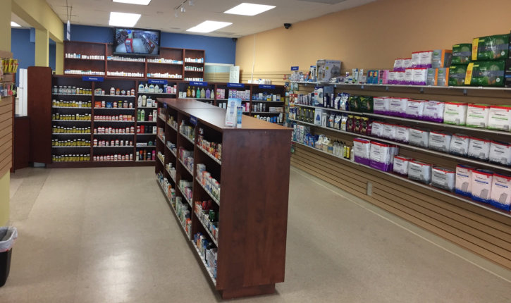inside view of north oaks pharmacy