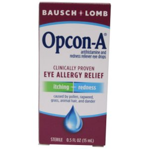 Itchy eye/Allergies